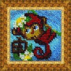 Набор для вышивания Вышивальная мозаика  212ЗД. Любви и света! Ваша чичи 6,5х6,5см