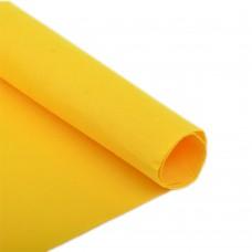 Фетр в рулоне полужесткий IDEAL 1мм 100см FLT-HS2 уп.5м цв.121 желтый