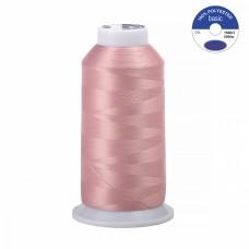 Нитки текстурированные некрученые MAX 150D/1 5000 м 90гр 100%п/э цв.561 грязно-розовый