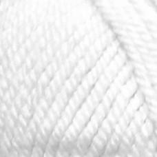 Пряжа для вязания ПЕХ Популярная (50% импортная шерсть, 45% акрил, 5% акрил высокообъёмный) 10х100г/133м цв.001 отбелка