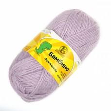 Пряжа для вязания КАМТ Бамбино (35% шерсть меринос, 65% акрил) 10х50г/150м цв.072 лаванда