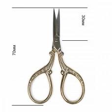 Ножницы для рукоделия 030/070мм. цельнометаллические TS-TN5 MAXWELL