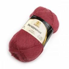 Пряжа для вязания КАМТ Воздушная (25% меринос, 25% шерсть, 50% акрил) 5х100г/370м цв.081 ягодный