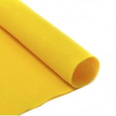 Фетр в рулоне жесткий IDEAL 1мм 100см FLT-H2 уп.10м цв.643 желтый