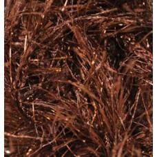 Пряжа для вязания Ализе Decofur Sim (20% металлик, 80% полиэстер) 5х100г/100м цв.26-01 коричневый