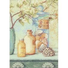 Набор для вышивания Classic Design 4457 Морской коктейль 14х20 см