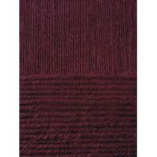 Пряжа для вязания ПЕХ Детский каприз тёплый (50% мериносовая шерсть, 50% фибра) 10х50г/125м цв.525 св.слива