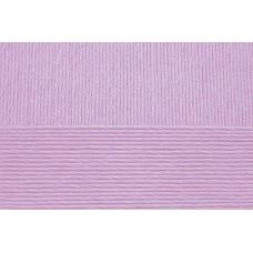 Пряжа для вязания ПЕХ Хлопок Натуральный летний ассорт (100% хлопок) 5х100г/425 цв.178 св.сиреневый