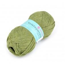 Пряжа для вязания ПЕХ Мультицветная (65% полиэстер, 35% хлопок) 5х50г/180м цв.478 защитный