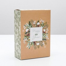 Коробка складная Сказочного нового года, 16x23x7.5 см 5017554